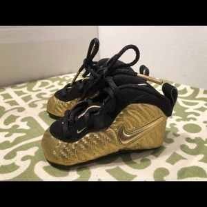 Nike Lil Posite Metallic Gold Foam Baby Shoes